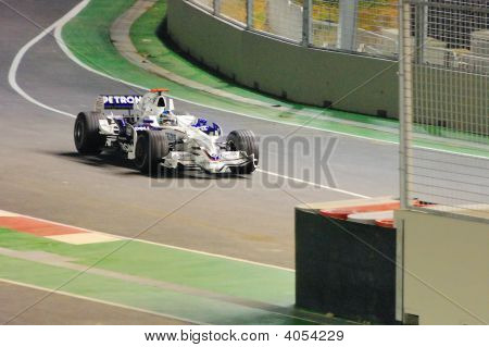 Nick Heidfeld Bmw Sauber Car In 2008 F1