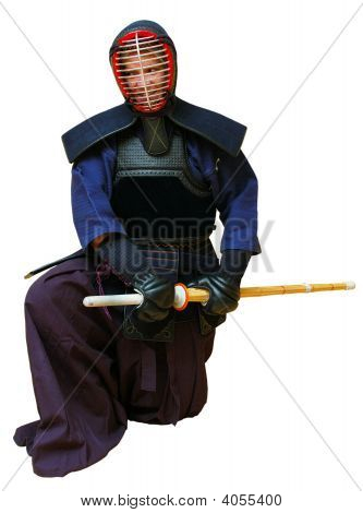 Woman In Kendo Uniform