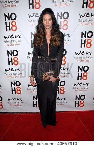LOS ANGELES - DEC 12:  Hope Dworaczyk arrives to the NOH8 4th Anniversary Party at Avalon on December 12, 2012 in Los Angeles, CA