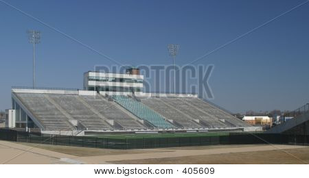 Large High School Stadium