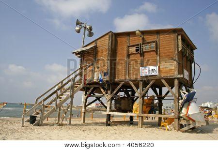 Lifeguard Watch Hut
