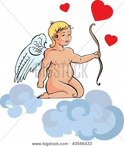Illustration Of Cupid