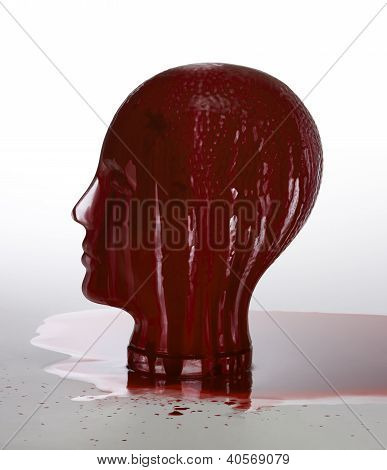 Bloody Glass Head