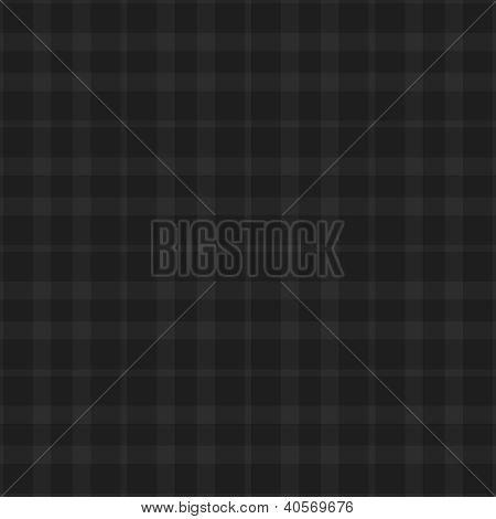 Seamless Black & Grey Plaid