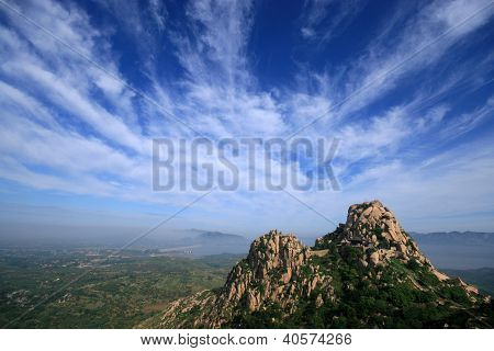 Mountain Area Natural Scenery In Northen China
