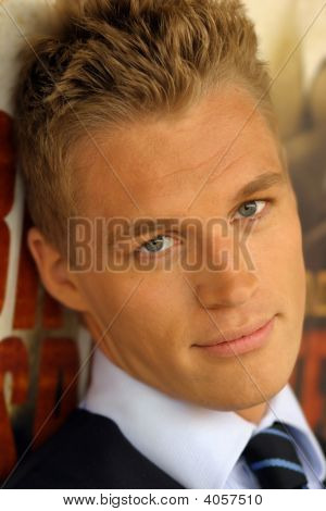 Young Blonde Guy