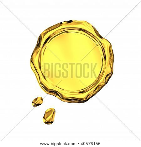 Golden Seal Wax