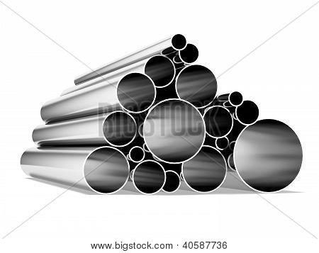 Tubos metálicos