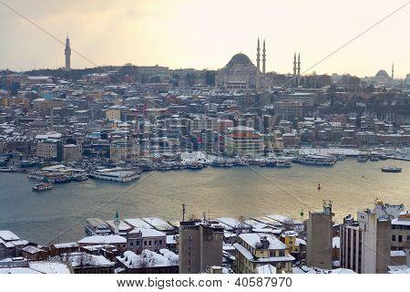 Winter at Goldenhorn Istanbul