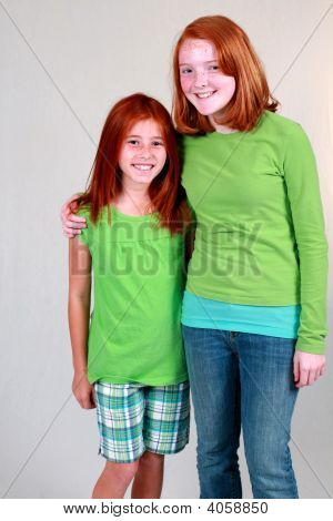 Ginger Preteens