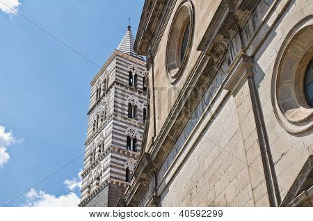 Cathedral of Viterbo. Lazio. Italy.
