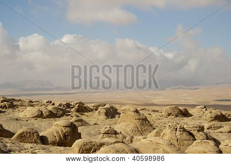 Desert And Mountains Of The Hashemite Kingdom Of Jordan