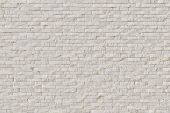 stock photo of raw materials  - White Modern stone Brick Wall - JPG