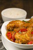image of ayam  - Chicken Kapitan  - JPG