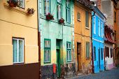 stock photo of sibiu  - Architectural detail of Sibiu - JPG
