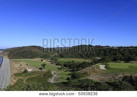 Pleneuf Val Andre Golf course, Bretagne, France