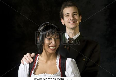 Young Friendly Couple