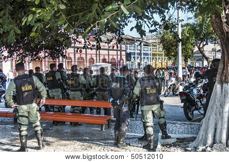 Popular Protest On The Day Of The Independence Of Brazil