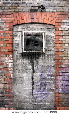Grungy Urban Wall