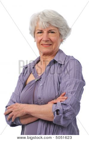 Active Senior Lady