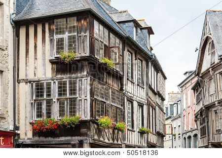 Typical House Rennes, French