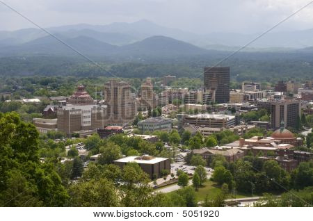 Asheville North Carolina Skyline