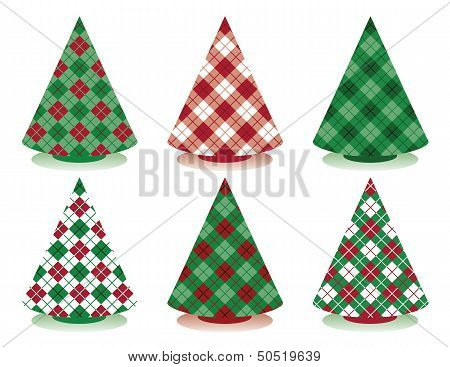 Plaid Christmas Trees