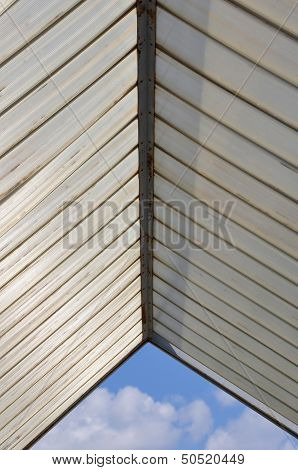 Plastic Roofing And Blue Sky