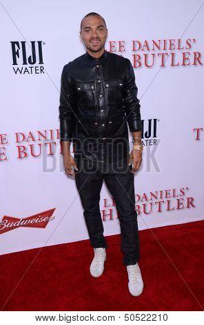 LOS ANGELES - AUG 12:  Jesse Williams arrives to