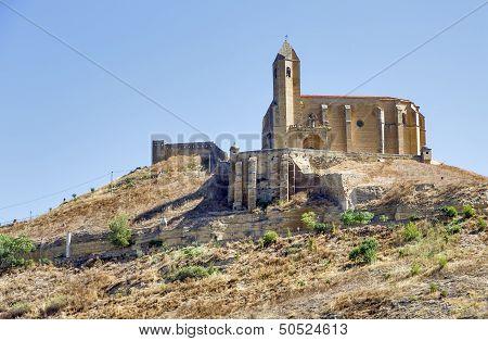 Castle Of San Vicente De La Sonsierra In La Rioja