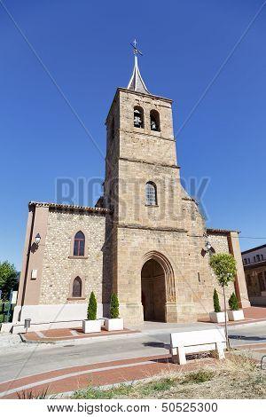 Parish Church Of San Pelayo In Banos Del River Tobia