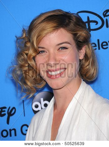 LOS ANGELES - AUG 04:  Tessa Ferrer arrives to ABC All Star Summer TCA Party 2013  on August 04, 2013 in Beverly Hills, CA