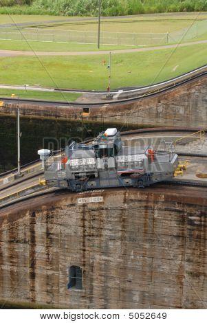 Panama Canal mule