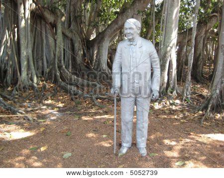 Edison-statue
