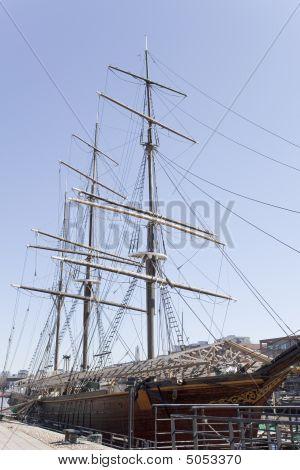 An Old Sailing Ship