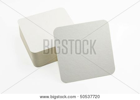 Set Of New Paper Coasters