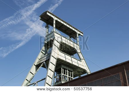 Coal Mine Headframe, Herne, Germany