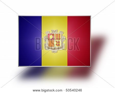 Flag Of Andorra.