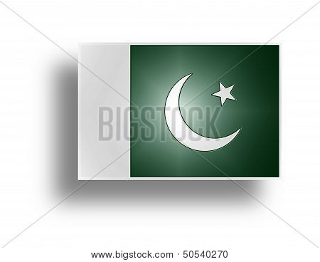 Flag Of Pakistan.