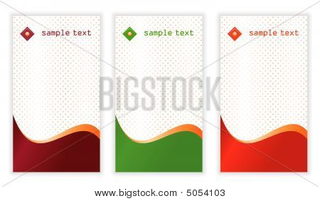 Vertical Business Cards Templates