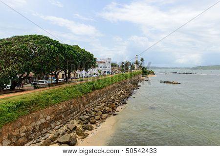 Sri Lanka, South Coast. City ??of Galle