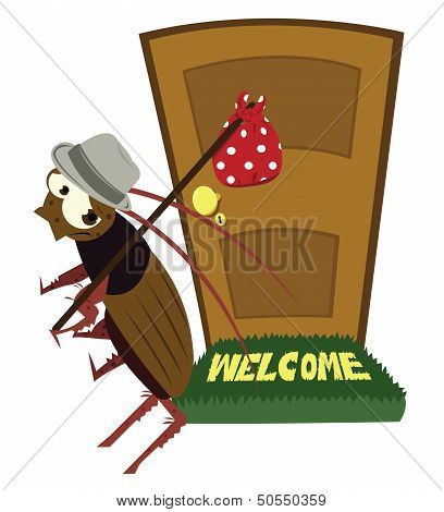 Cockroach Leaving
