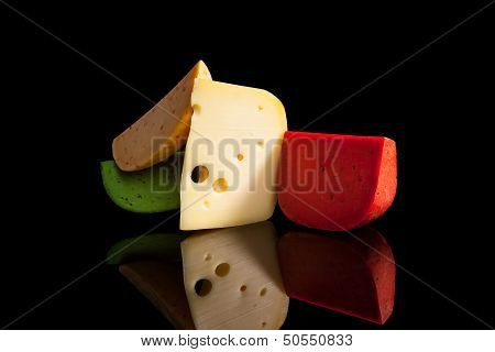 Colorful Cheese Variation.