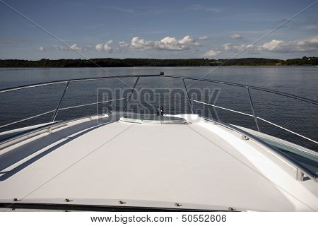 The Bow Of A Boat
