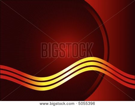 Red And Burgundy Abstract Vector Background