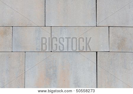 Stone Surface With Seams
