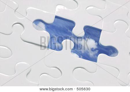 Blue Sky Jigsaw