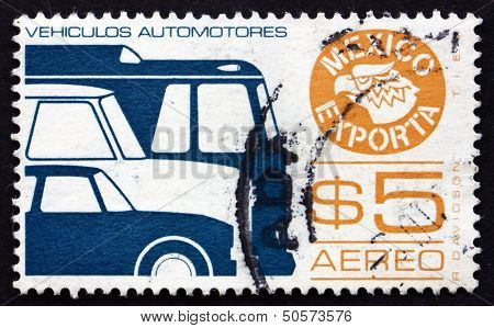 Postage Stamp Mexico 1976 Motor Vehicle, Mexican Export