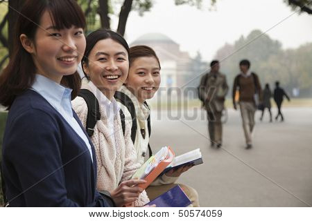 Group of University Students on Campus