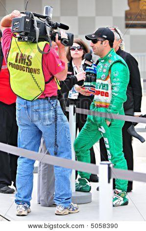 Tony Kannan At Indianapolis 500